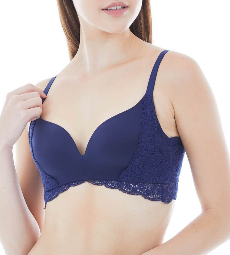 Comfort Touch Non Wired Bra - DEEP WATER