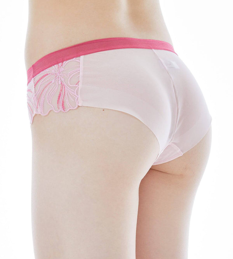 Enchanted Blossom Panty - Frenchie - AIR PINK