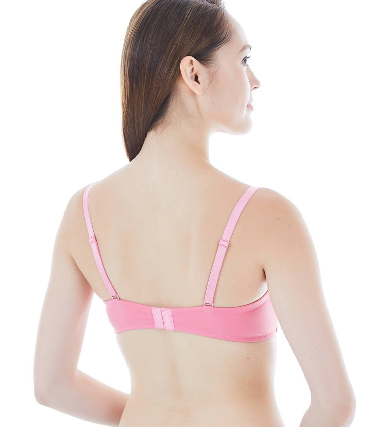 Everyday Basic Non-wired Padded Bra - MILLENNIUM PINK