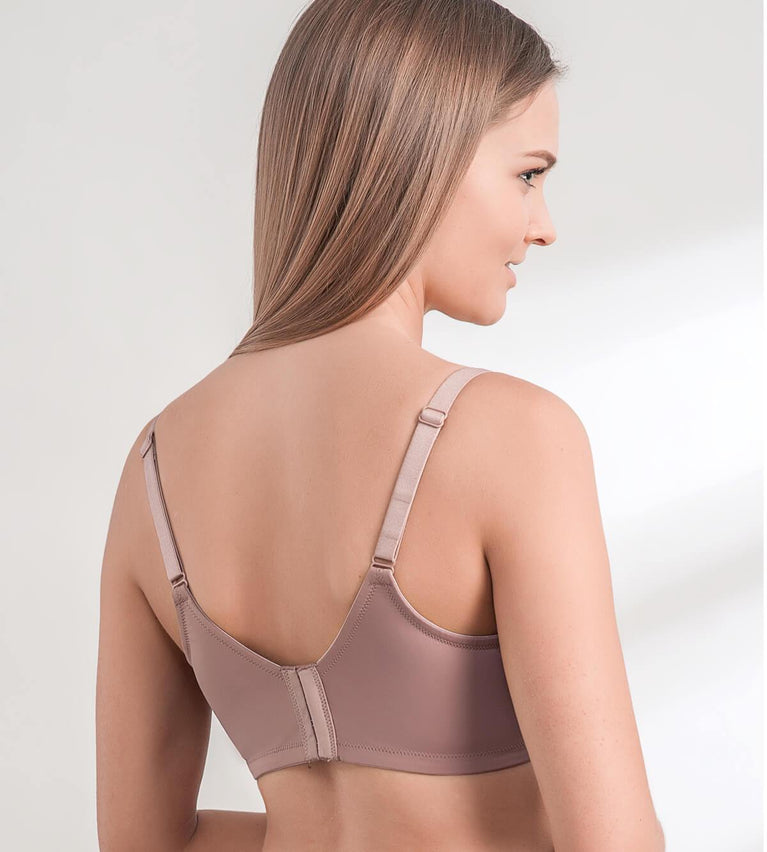 Everyday Basic Wired Padded Bra - CHOCOLATE MOUSSE