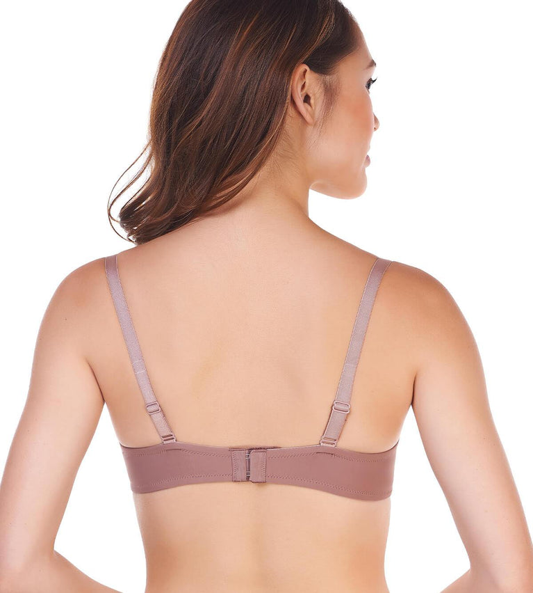Everyday Basic Wired Push Up Bra - CHOCOLATE MOUSSE