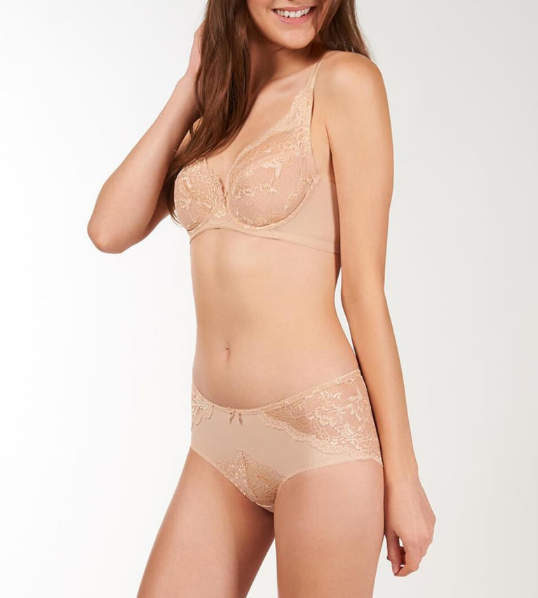 Natural Elegance Non Padded Bra - NEUTRAL BEIGE