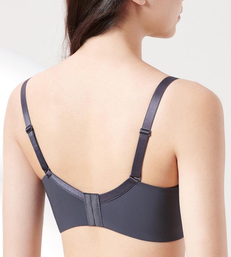 Sculpt Idol Wired Support Bra - PEBBLE GREY