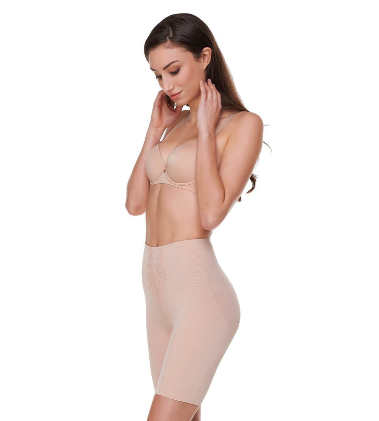 Sculpting Long Girdle - NEUTRAL BEIGE