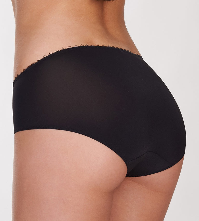 Sexy Cushion Basic Panty - Hipster - BLACK COMBINATION