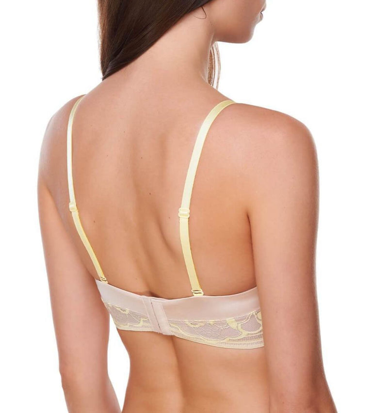 Sexy Cushion Grace Non Wired Bra with Detachable Straps - NUDE BEIGE