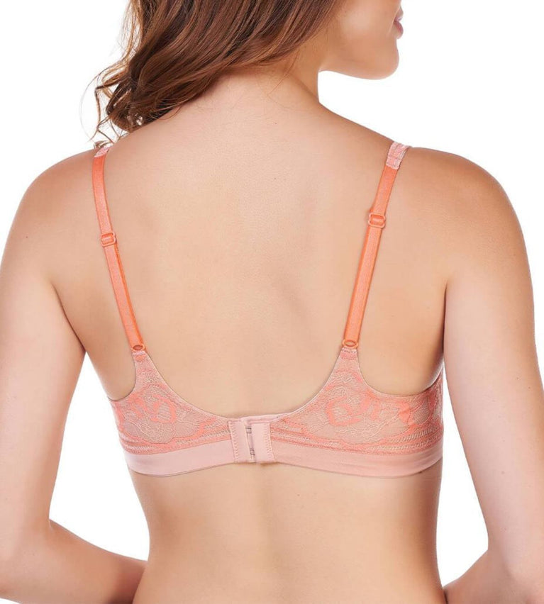 Sexy Cushion Grace Non Wired Push Up Bra - DUSTY PINK