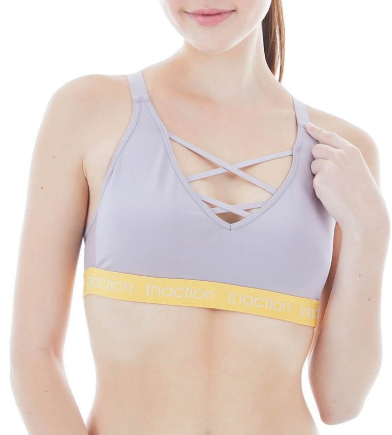 Triaction Sports Non-Wired Sports Bra - DUST