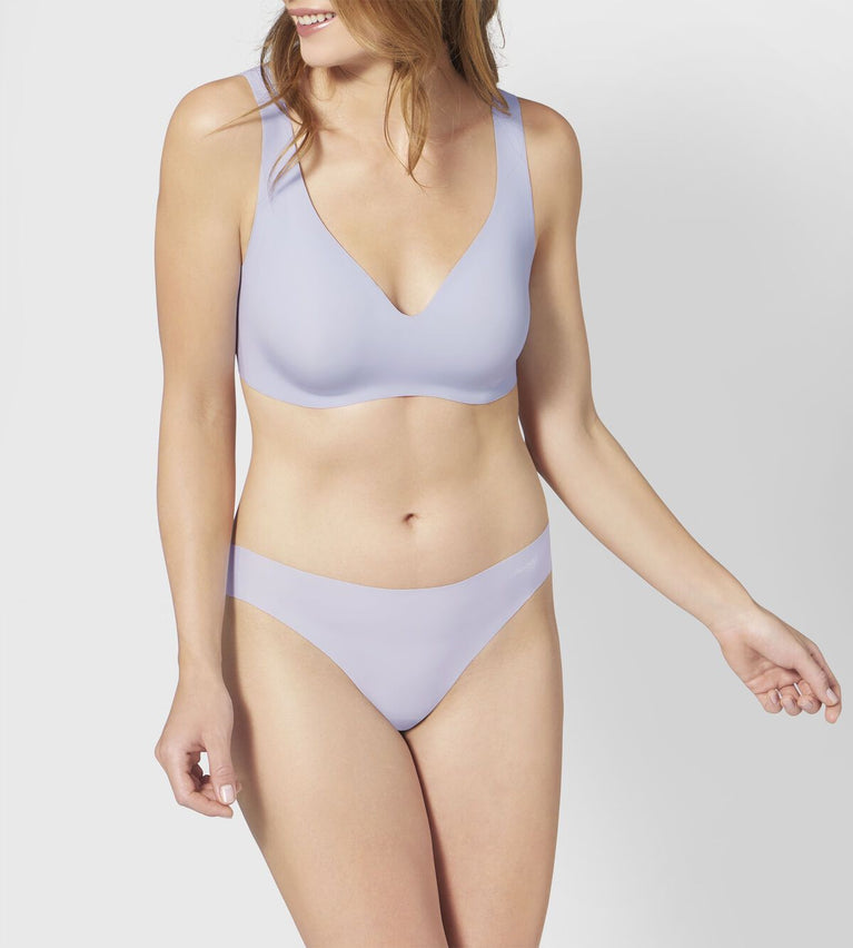 ZERO Feel Non-Wired Bralette - SILVER SHADOW