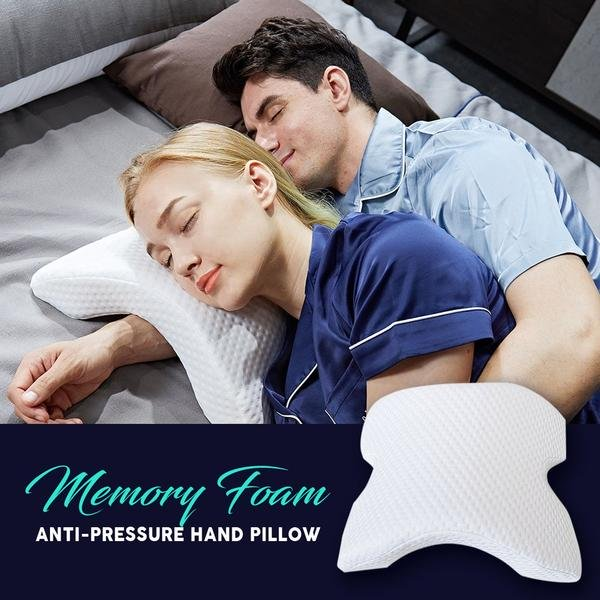 Memory Foam Couple Cuddle Pillow