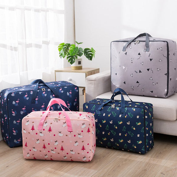 Thickened Oxford Cloth Quilt Luggage Storage Bag