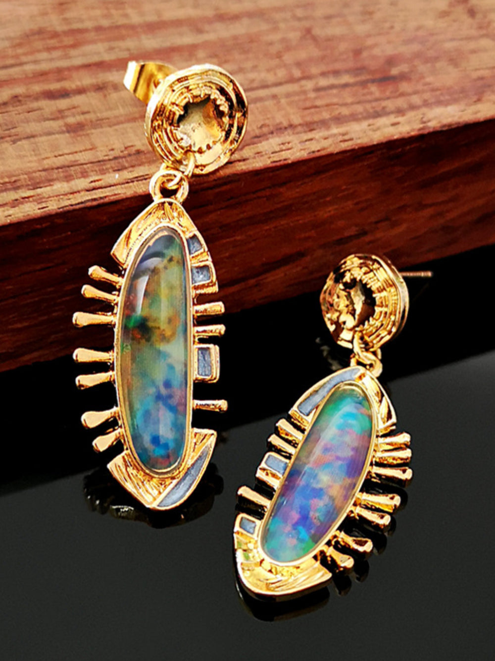 Artistic Vintage Elegant Earrings