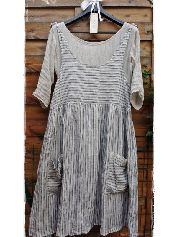 Women Casual Loose Tops Tunic Vest Dress