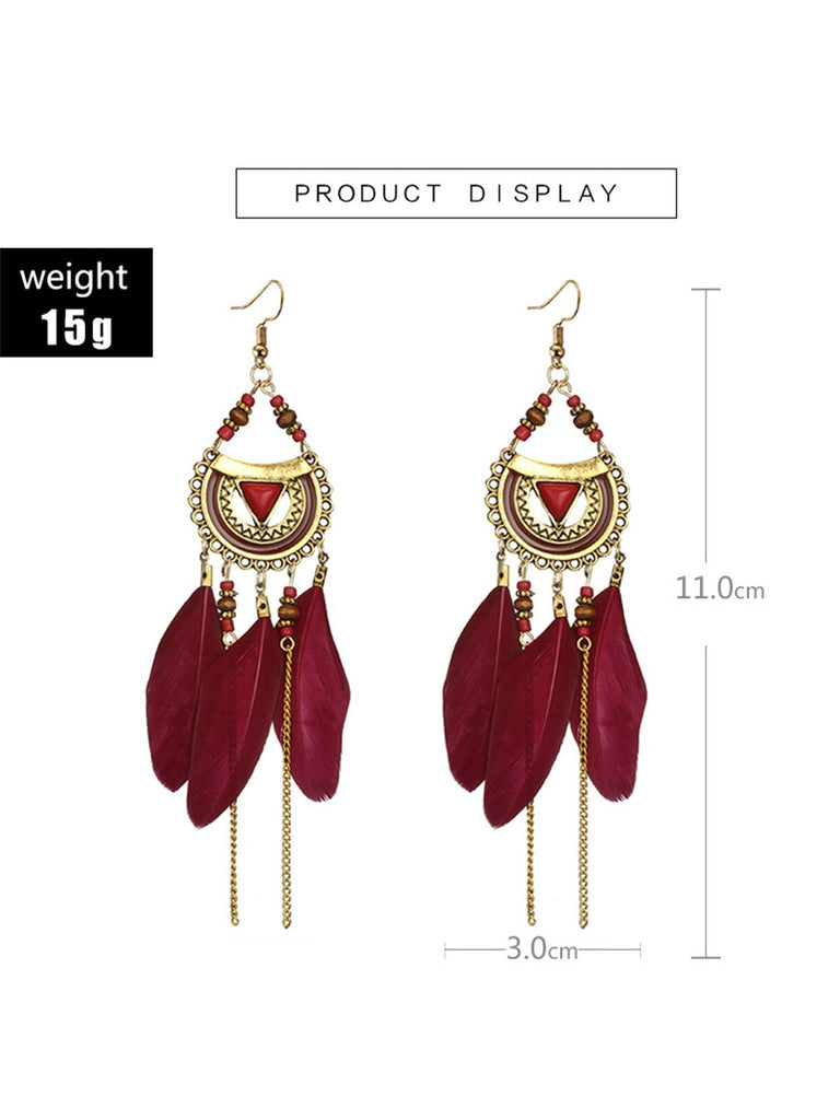 Women Fashion Bohemia Earring