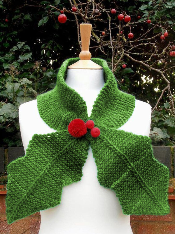 Cute Knitted Neck Scarf