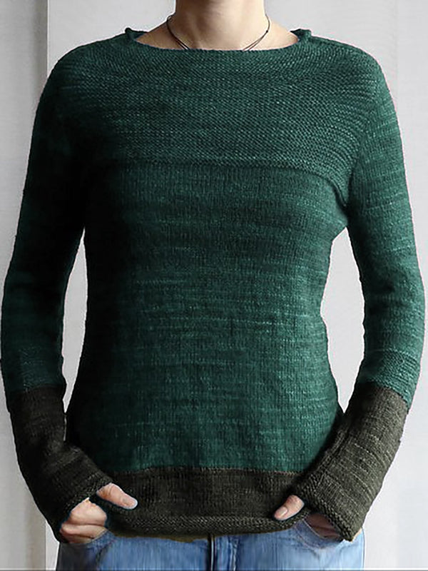 Holiday Knitted Long Sleeve Sweater