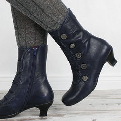 Women Elegant Daily Buckle Comfy Boots