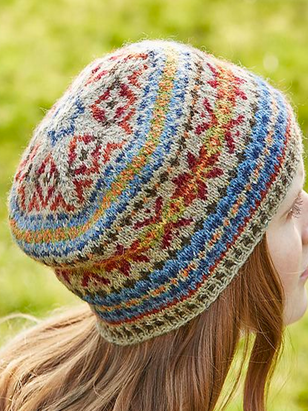 Irisruby Women Winter Hats Fashion Casual Printed Knitted Hats