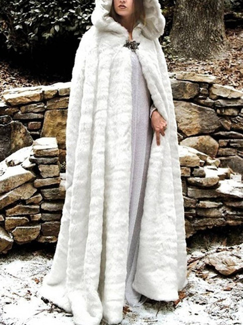 Medieval costume plus size cloak Vintage Outerwear