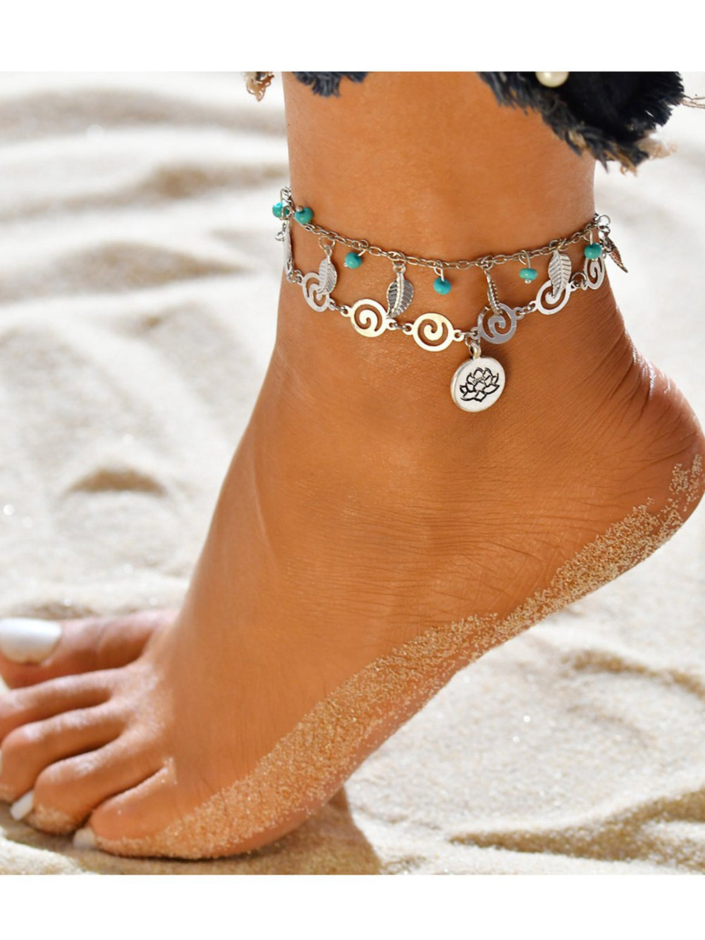 Women Multi-Types Anklets