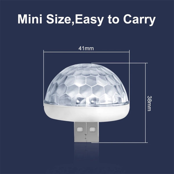 Mini USB Disco LED Light Projector