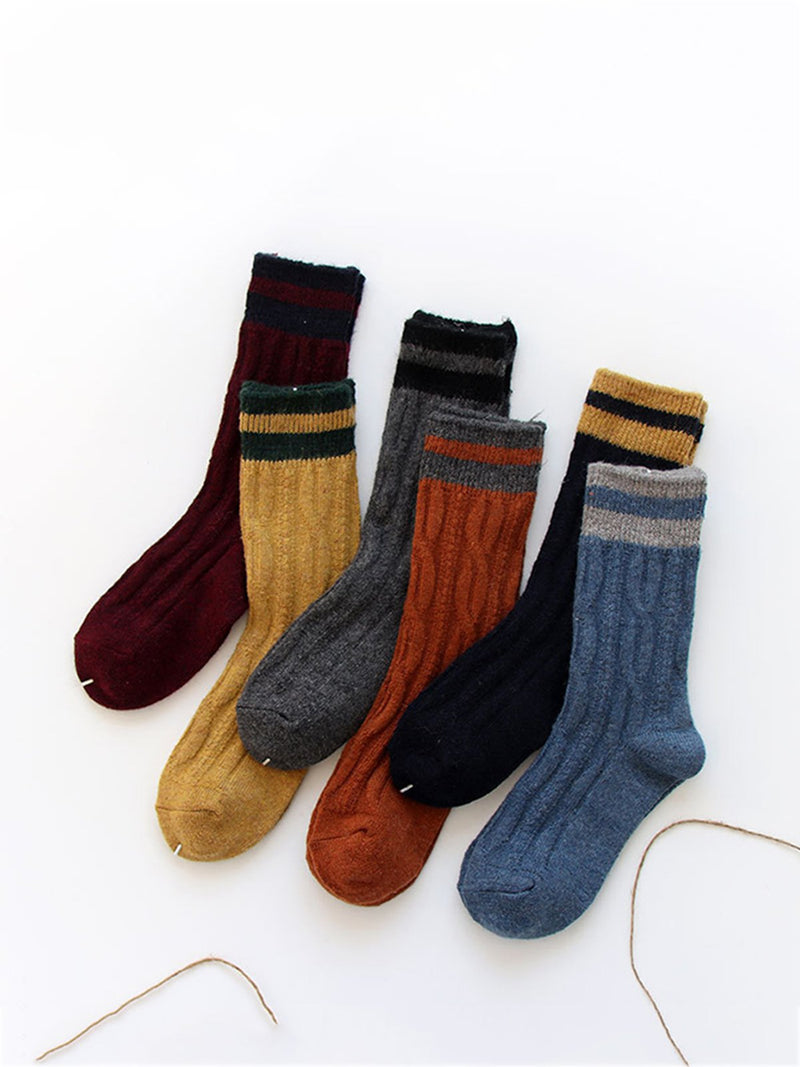 Women Casual Polyester All Season Daily Stretchy Socks