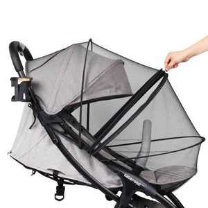 Universal Mosquito Net for Strollers Crib Beberoad