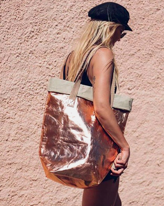 Carry Bag Metallic ~ vegan