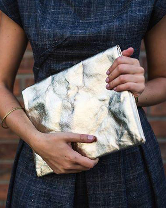 Clutch Metallic ~ vegan