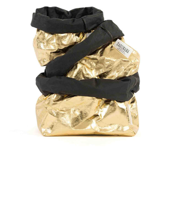 Metallic Bag Gold Black