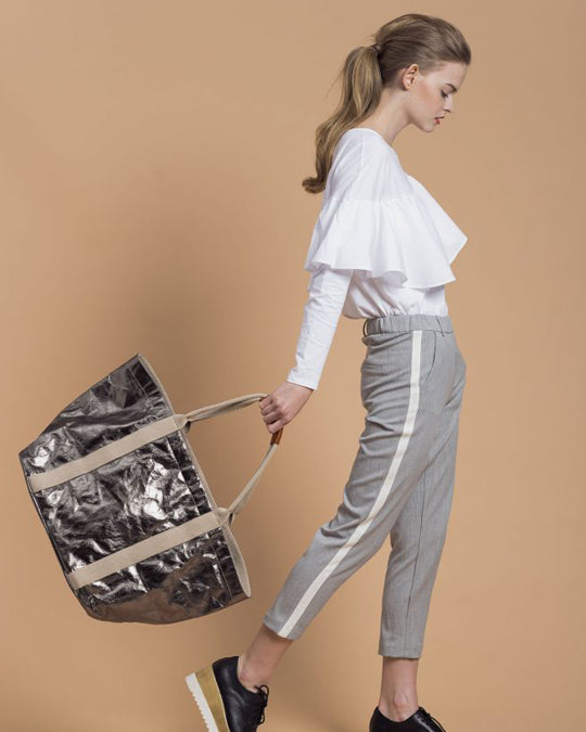Shopper Tote Metallic