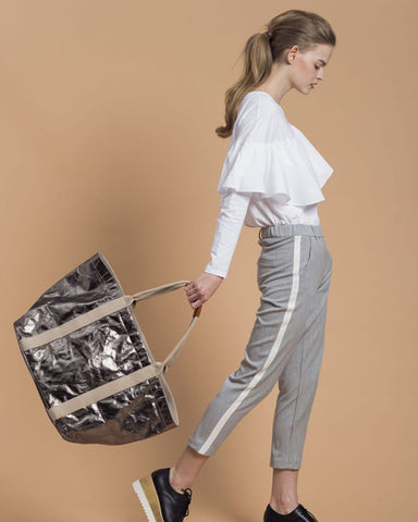Sydney Shopper Metallic ~ vegan