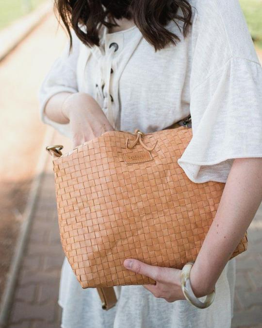 Small Sling Bag Weave