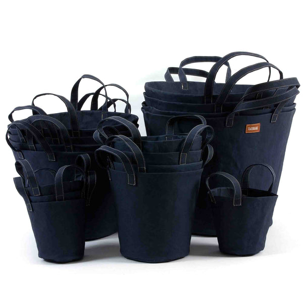 Paper Bucket Dark Blue