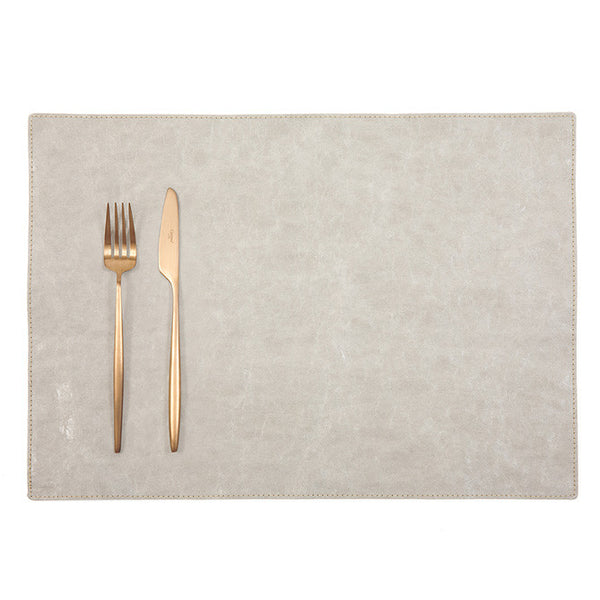 Luxe Paper Placemat Grey
