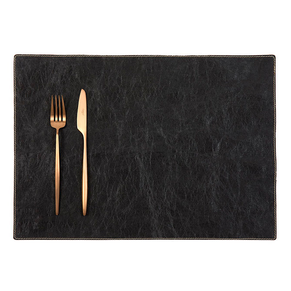 Luxe Paper Placemat Black