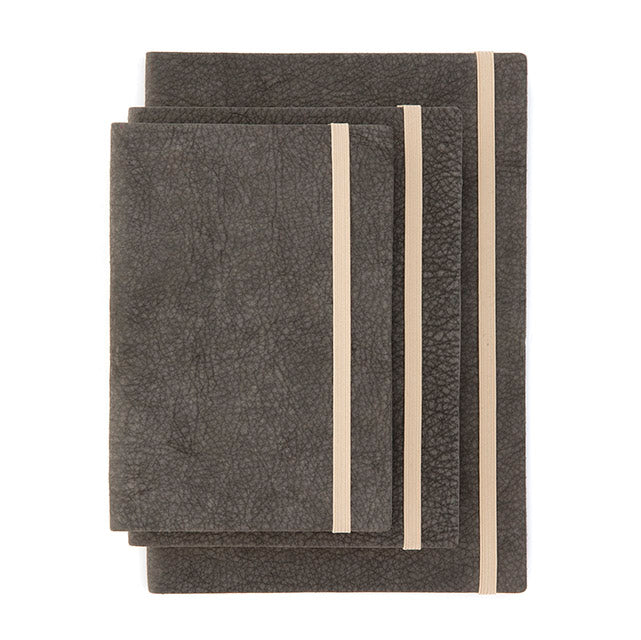 Elephant Notebook Dark Grey (vegetale)
