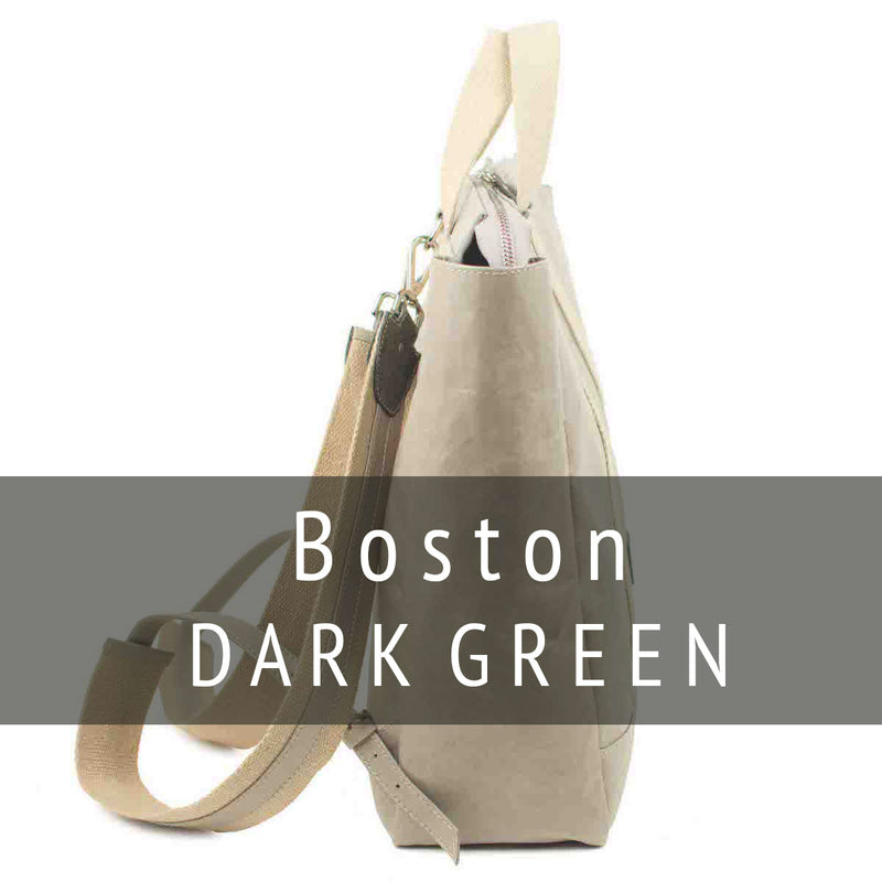 Boston Pack Dark Green (vegetale)