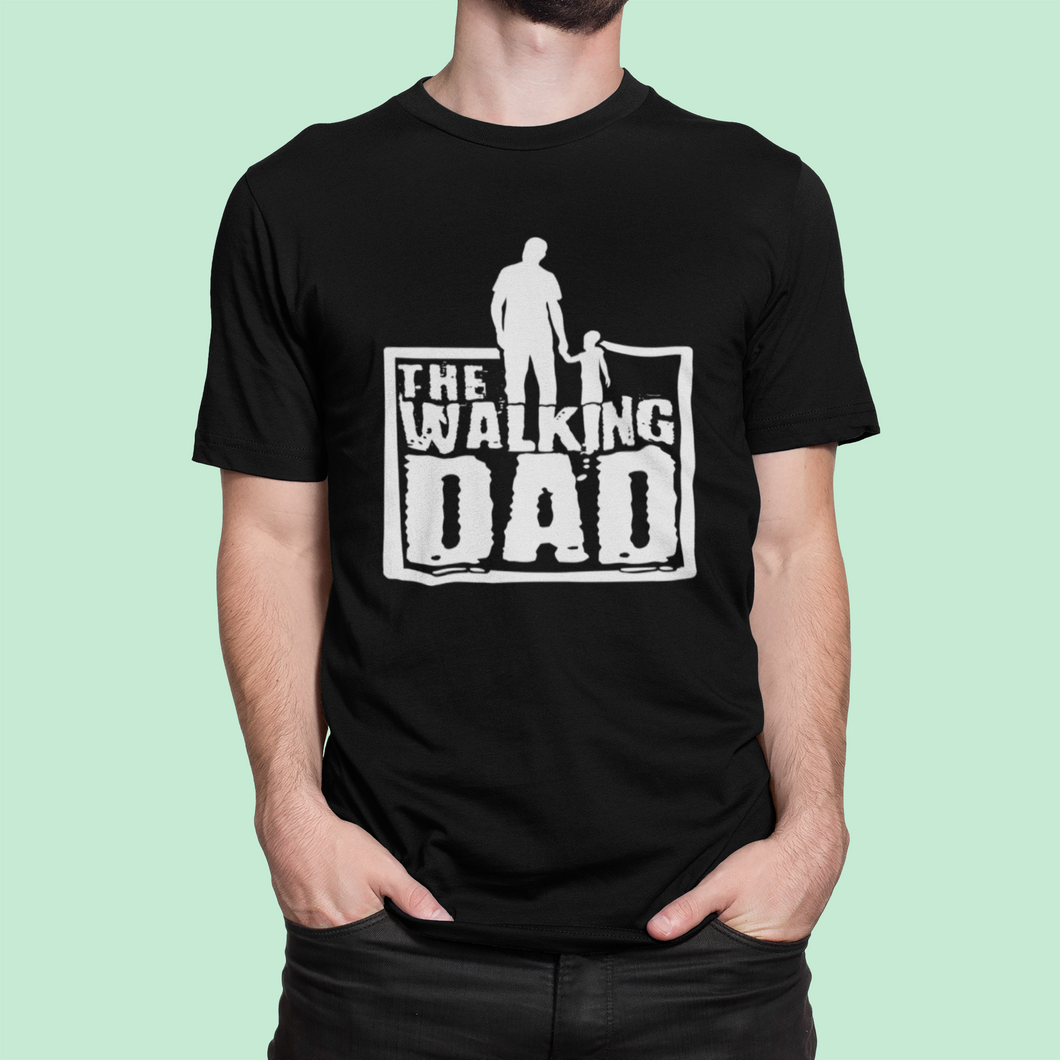 Walking Dad Lustiges Papa Shirt