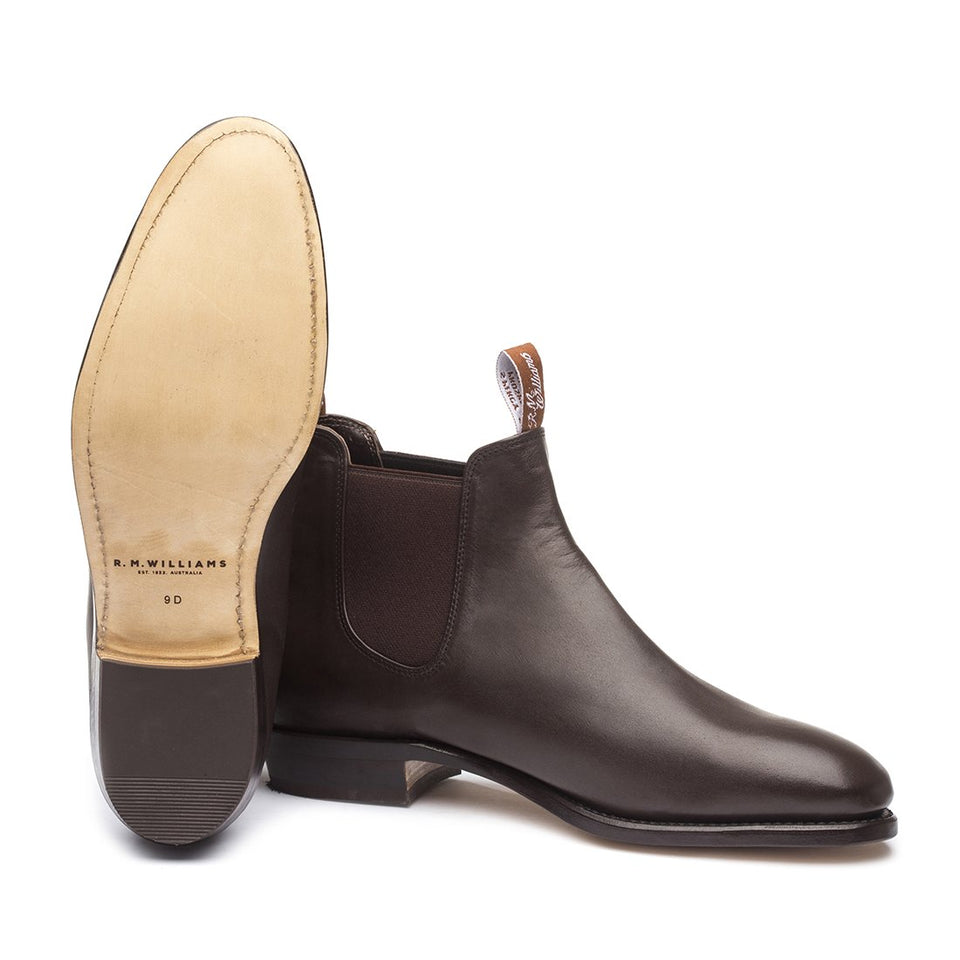 Adelaide Boots Chestnut D Fit