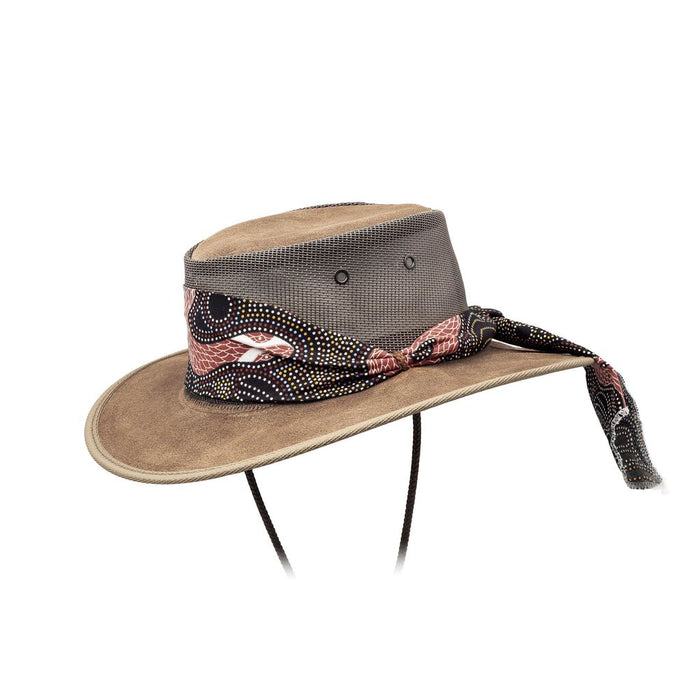 Barmah Hats Foldaway Aboriginal Art Cooler