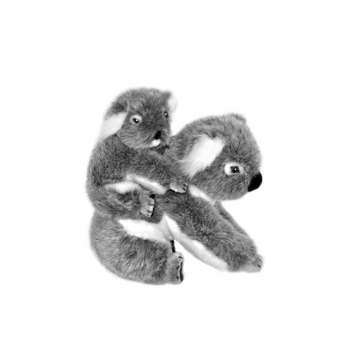 Koala w/baby on back 23cm - Kelly And Kiri