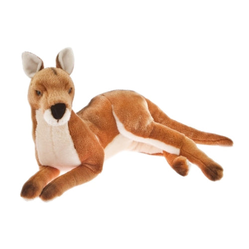 Kangaroo 55cm lying, brown - Tully