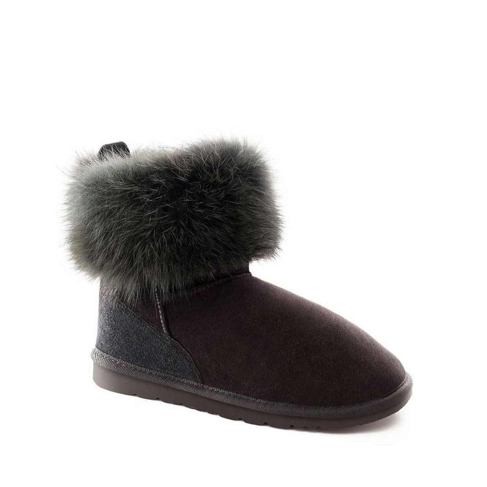 Mini Fox Boot Black