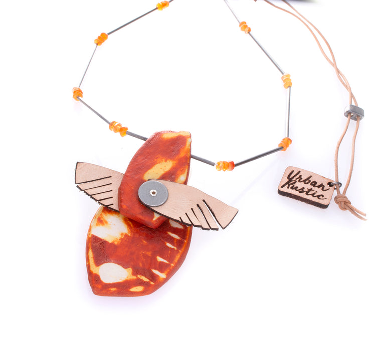 Sgraffito Necklace