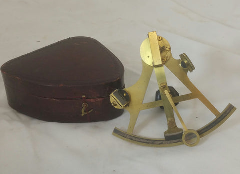 A Miniature Sextant by Cary of London
