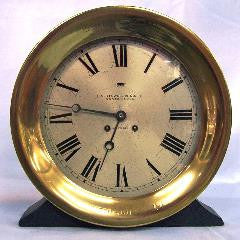 "Chelsea 10"" Dial Ship's Bell Clock SOLD"