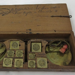 European 17th Century Travel Coin Scale--SOLD