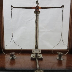 F.E. Becker & Co Analytical Balance In Wood Case