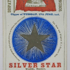Clipper Ship Card for Clipper Silver Star